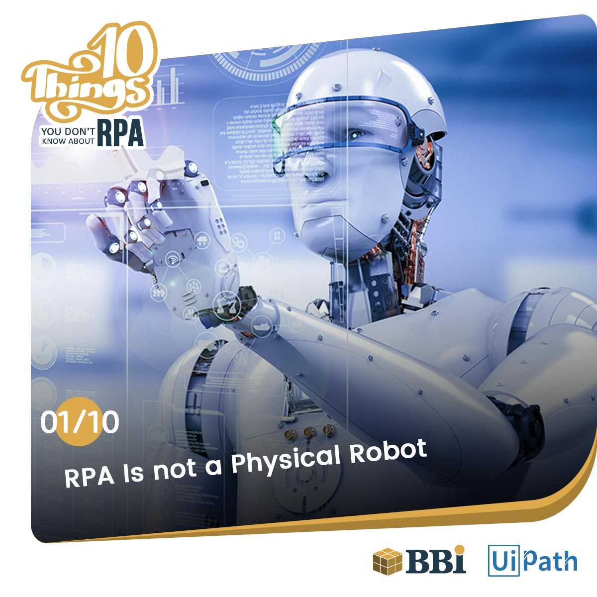 RPA is not a physical Robot
