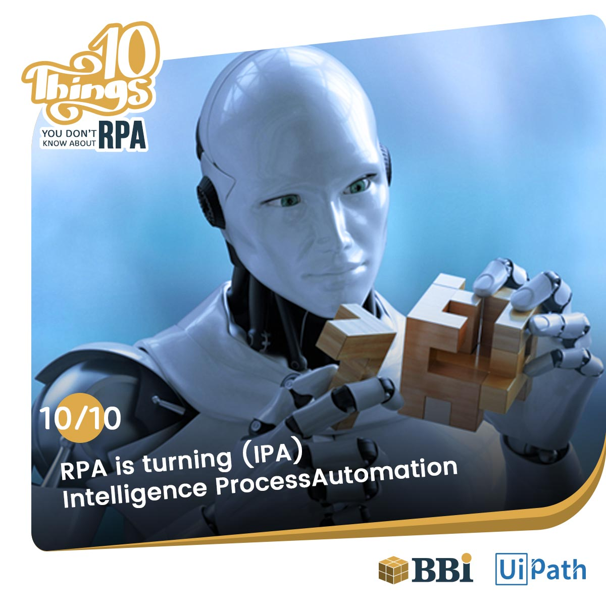 RPA IPA artificial intelligence automation