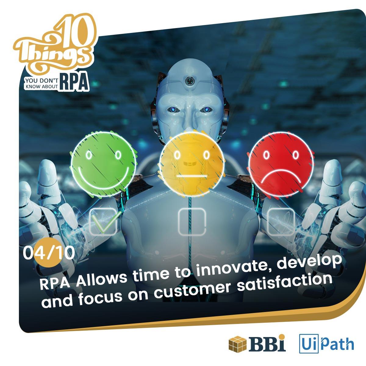 RPA technology Customer Satisfaction