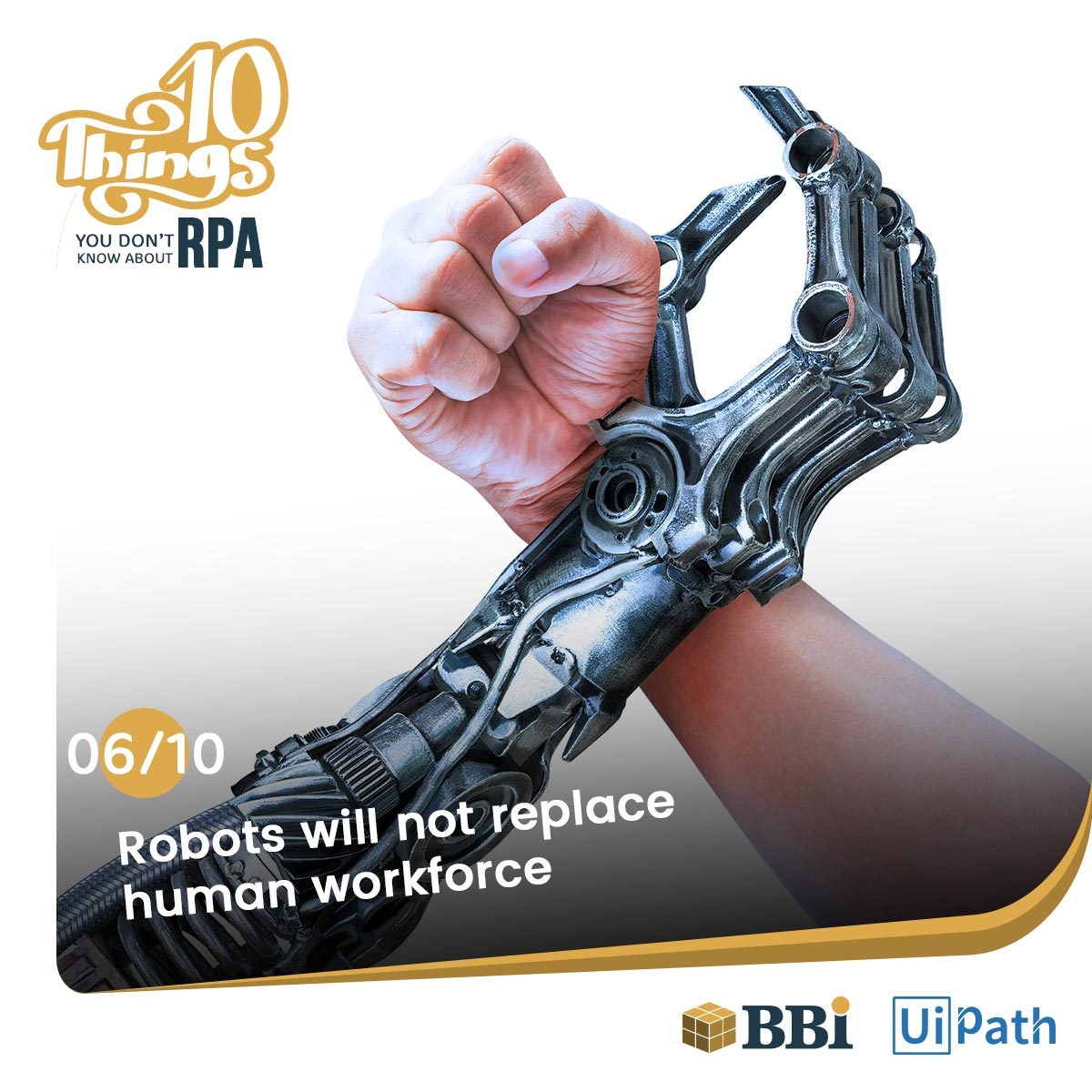 RPA Software Robots will not replace humans